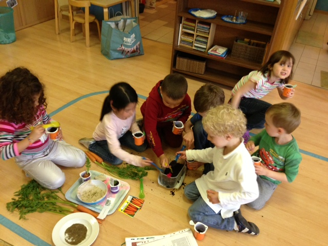 English Workshop at Little Friends Montessori School Geneva
